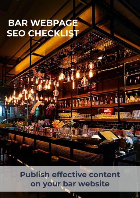 Bar Webpage SEO Checklist