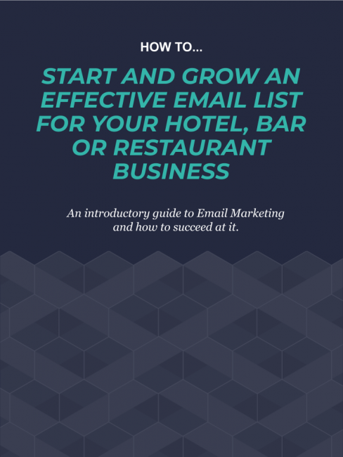 How to start and grow an effective email list ebook cover